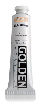 Golden Acrylic Heavy Body 2oz Light Orange