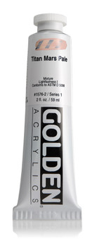 Golden Acrylic Heavy Body 2oz Titan Mars Pale