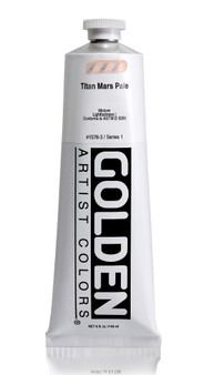 Golden Acrylic Heavy Body 5oz Titan Mars Pale