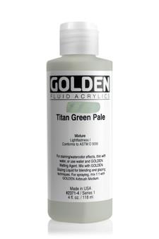 Golden Acrylic Fluid 4oz Titan Green Pale