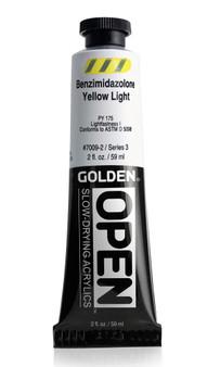 Golden OPEN Acrylic 2oz Benzimidazolone Yellow Light