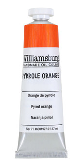 Williamsburg Handmade Oil Paint 37ml Pyrrole Orange