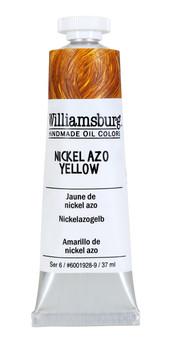 Williamsburg Handmade Oil Paint 37ml Nickel Azo Yellow