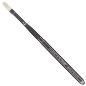 Jack Richeson Grey Matters Pocket Interlocking Bristle for Oil & Acrylic Filbert 2