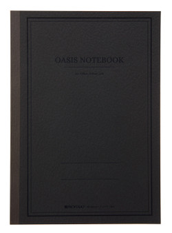 "Itoya ProFolio Oasis Journal Large 7x10"" Charcoal"