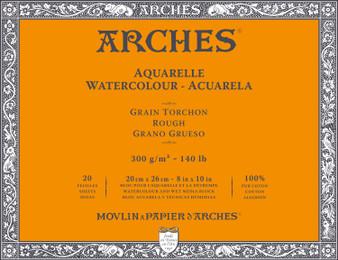 Arches Watercolor Block 140lb Rough Press 8x12