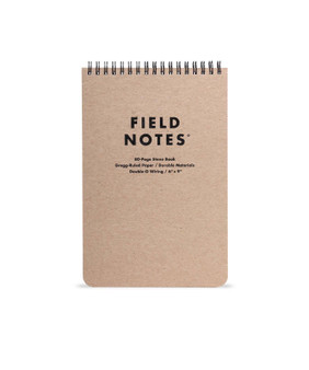 Field Notes Steno 6x9 Ruled Wirebound Book