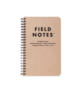 "Field Notes 56 Week Planner 4.75x7.5"" Wirebound"