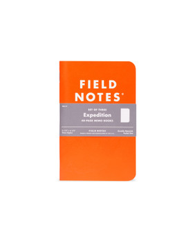 Field Notes Expedition Dot-Graph 3 Pack of Memo Books