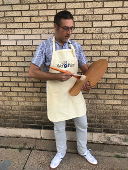 Wet Paint Custom Apron