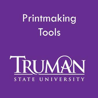 Truman State Printmaking Tool Kit Instructor Laura Bigger