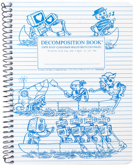 Michael Rogers Decomposition Notebook Coilbound Ruled Rowbots