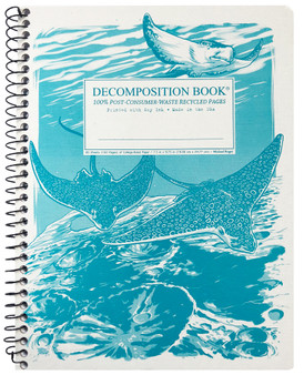 Michael Rogers Decomposition Notebook Coilbound Ruled Spotted Eagle Rays