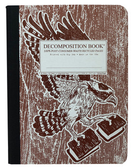 Michael Roger Press Decomposition Notebook Ruled Osprey