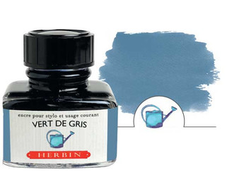 J. Herbin Fountain Pen Ink 30ml Vert De Gris