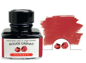 J. Herbin Fountain Pen Ink 30ml Rouge Grenat