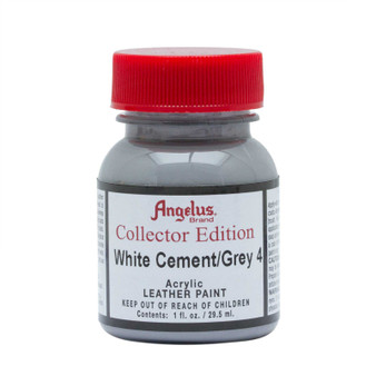 Angelus Leather Paint 1oz Collector Edition Cement/Grey 4