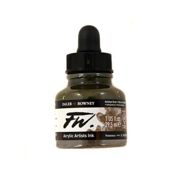 Daler-Rowney Fw Ink 1oz Antelope Brown