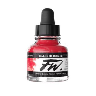 Daler-Rowney Fw Ink 1oz Crimson