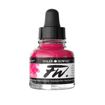 Daler-Rowney Fw Ink 1oz Fluorescent Pink