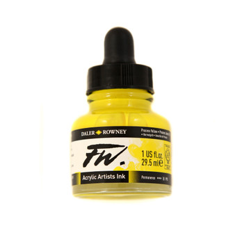 Daler-Rowney Fw Ink 1oz Process Yellow