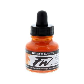 Daler-Rowney Fw Ink 1oz Flame Orange