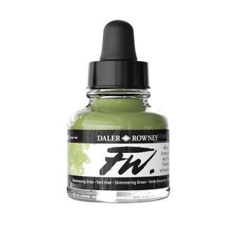 Daler-Rowney Fw Ink 1oz Shimmering Green