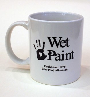 Wet Paint Ceramic Mug