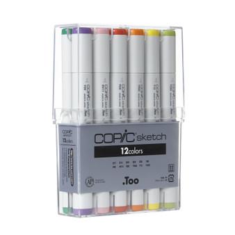 Copic Sketch Marker Basic 12 Set