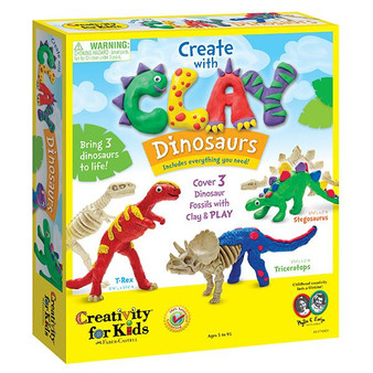 Faber-Castell Creativity for Kids Create Clay Dinosaurs