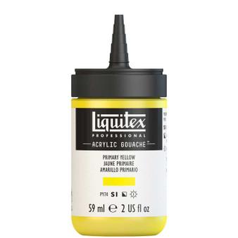 Liquitex Acrylic Gouache 2oz Bottle Primary Yellow