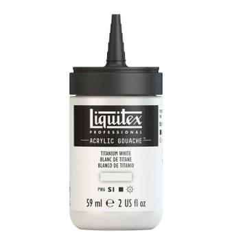 Liquitex Acrylic Gouache 2oz Bottle Titanium White