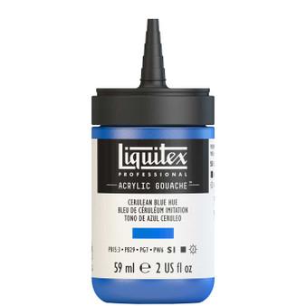Liquitex Acrylic Gouache 2oz Bottle Cerulean Blue Hue