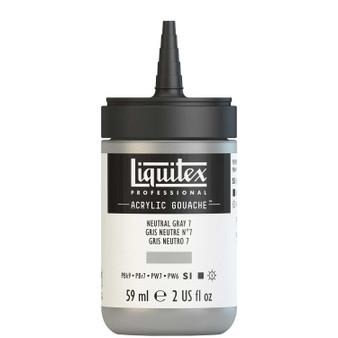 Liquitex Acrylic Gouache 2oz Bottle Neutral Grey 7