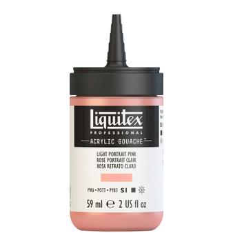 Liquitex Acrylic Gouache 2oz Bottle Light Portrait Pink