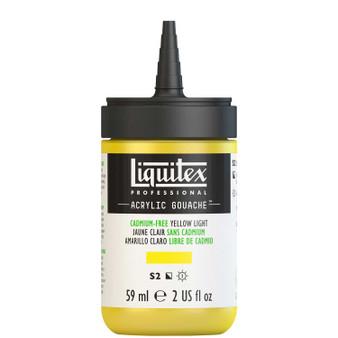 Liquitex Acrylic Gouache 2oz Bottle Cadmium-Free Yellow Light