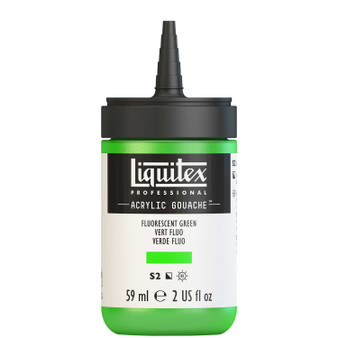Liquitex Acrylic Gouache 2oz Bottle Fluorescent Green
