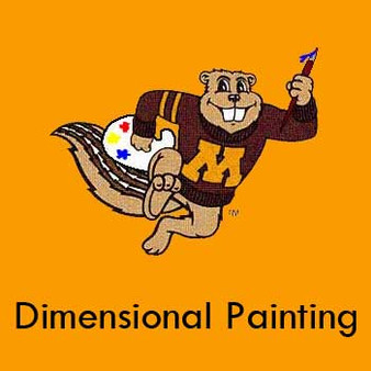 Dimensional Painting with Instructor Mathew Zefeldt