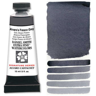 Daniel Smith Extra-Fine Watercolor 15ml 2019 Color Alvaro's Fresco Grey