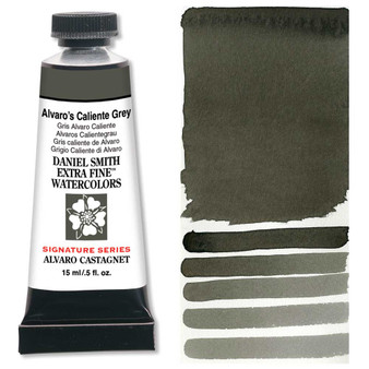 Daniel Smith Extra-Fine Watercolor 15ml 2019 Color Alvaro's Caliente Grey