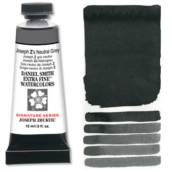 Daniel Smith Extra-Fine Watercolor 15ml 2019 Color Joseph Z's Neutral Grey