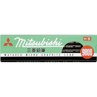 Mitsubishi 9800 Pencil HB Dozen