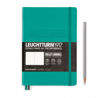 Leuchtturm 1917 Hardbound Bullet Journal Emerald