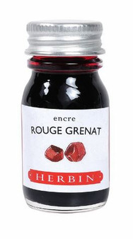 J. Herbin Fountain Pen Ink Bottled 10 ml Rouge Grenat