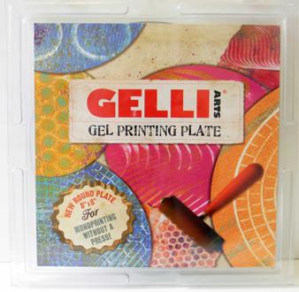 """Gelli Gel Printing Plate 8"""" Round"""