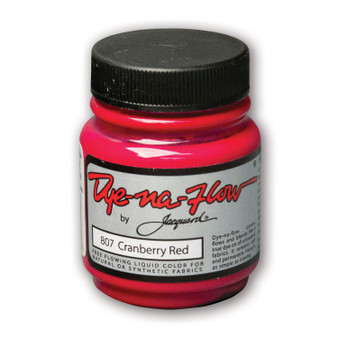 Jacquard Dye-Na-Flow 2.25 fl oz Cranberry Red