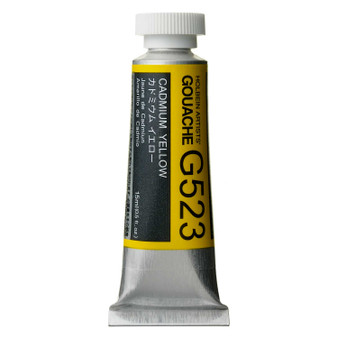 Holbein Artist Designers Gouache 15ml Cadmium Yellow