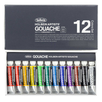Holbein Artist Designers Gouache 5ml Set of 12