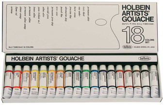 Holbein Artist Designers Gouache 5ml Set of 18