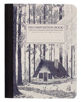 Michael Roger Press Decomposition Ruled Notebook Redwood Creek